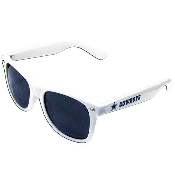 Dallas Cowboys White Beachfarer Sunglasses