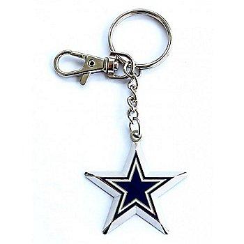 Dallas Cowboys Zamac Star Keychain