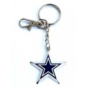 Dallas Cowboys Zamac Star Keychain