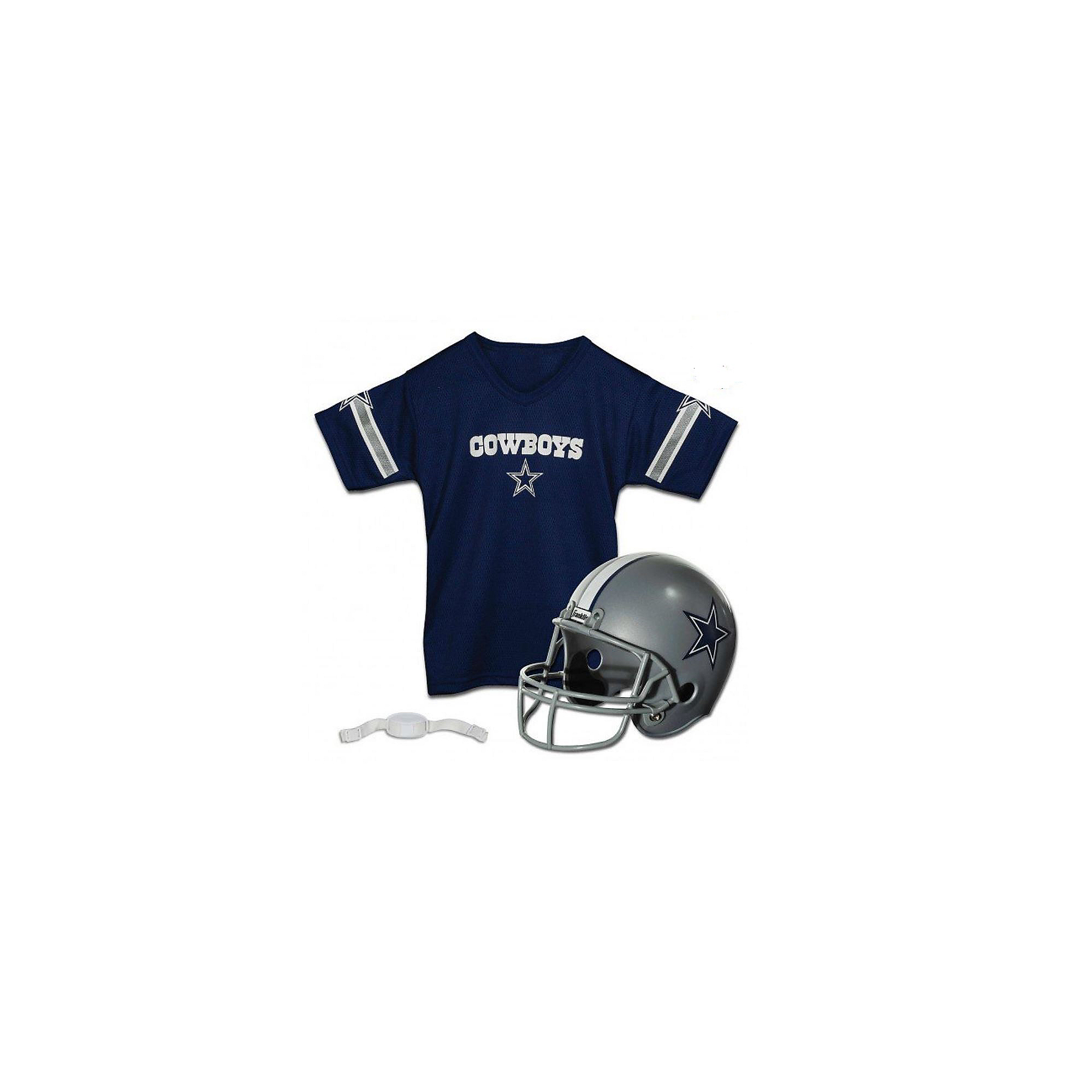 Dallas Cowboys Helmet & Jersey Set