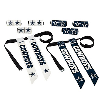 Dallas Cowboys 8 Player Flag Football Set
