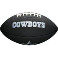 Dallas Cowboys Black Mini Soft Touch Football