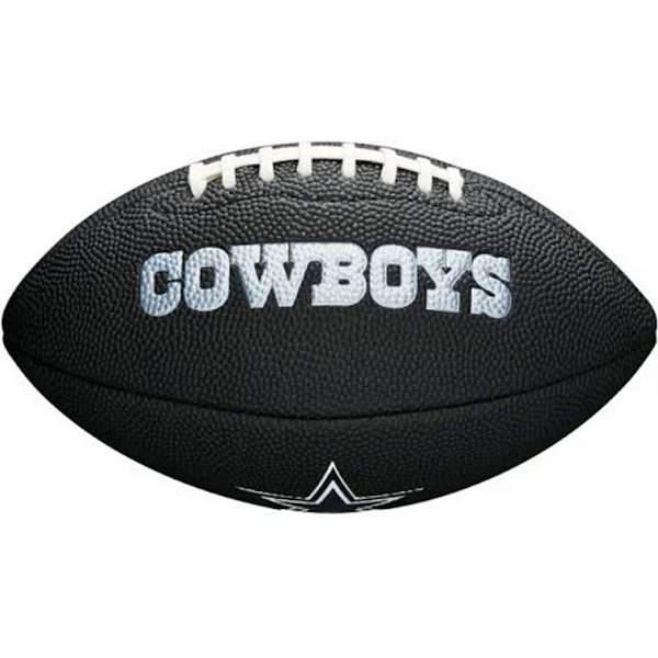 Dallas Cowboys Black Mini Soft Touch Football