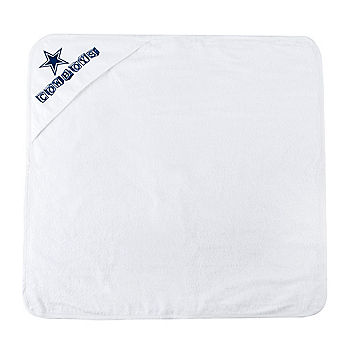 Dallas Cowboys Hooded Baby Towel