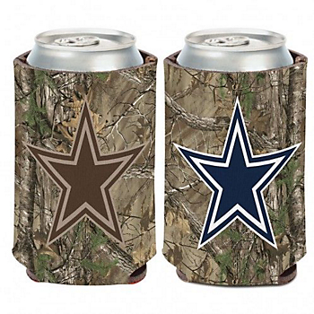 Dallas Cowboys Real Tree Can Cooler