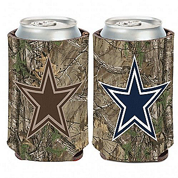 Dallas Cowboys Real Tree Can Cooler