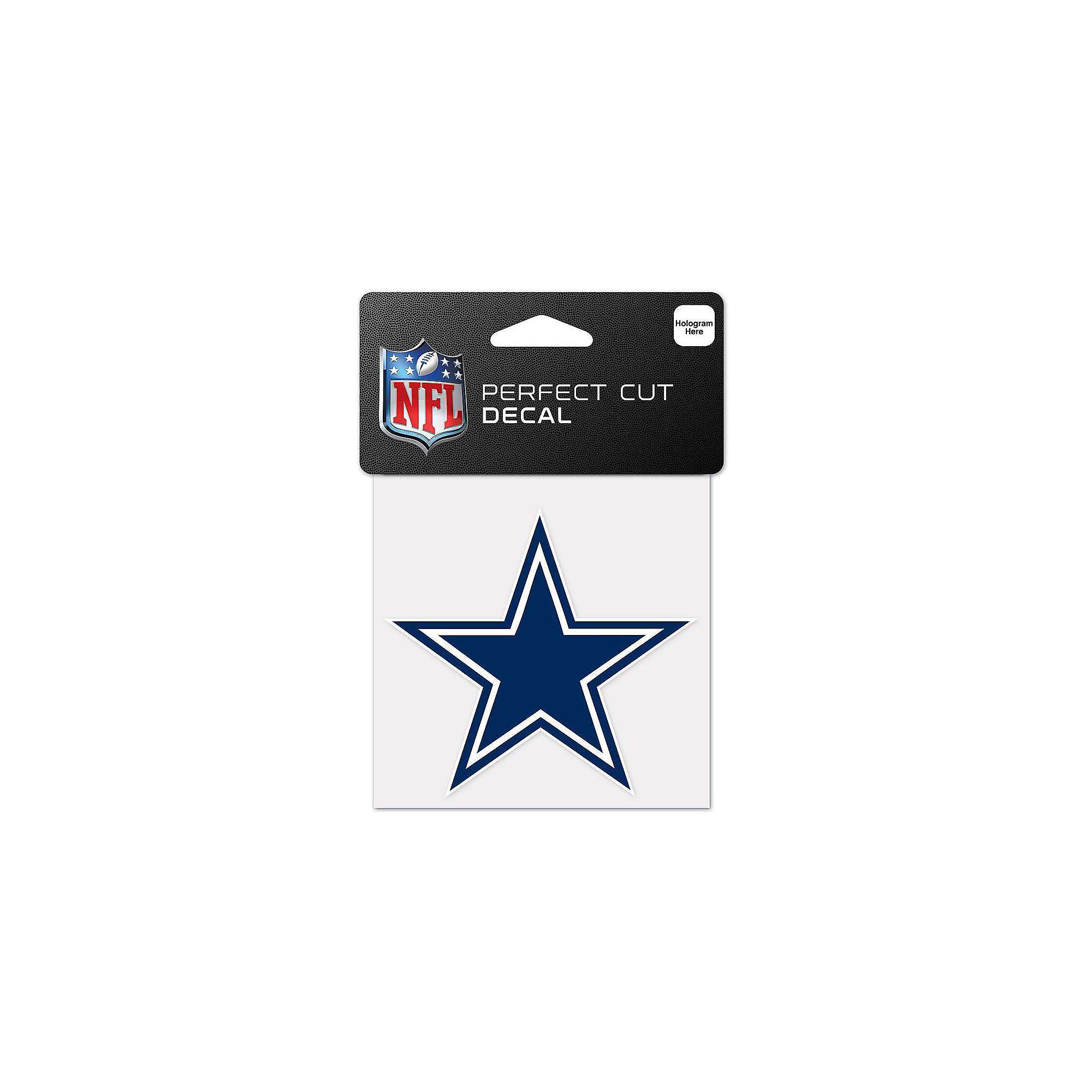 Dallas Cowboys 4x4 Blue Star Decal