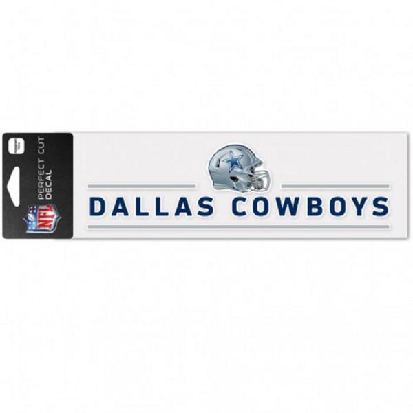 Dallas Cowboys 3x10 Perfect Cut Helmet Bars Decal