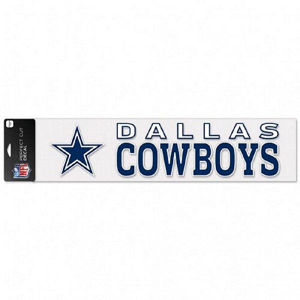 Dallas Cowboys 4x17 Perfect Cut Wordmark Decal