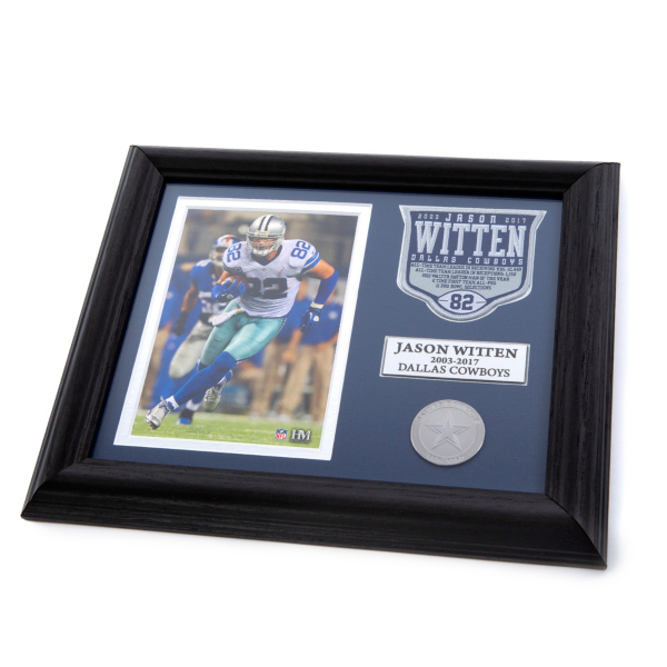 Dallas Cowboys Jason Witten Commemorative Photo Mint Frame