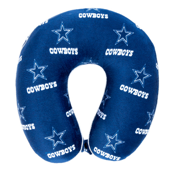 Dallas Cowboys Memory Foam Neck Pillow