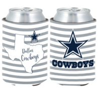 Dallas Cowboys 2fer Stripe Can Coolie