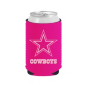 Dallas Cowboys Pink on Pink Can Cooler