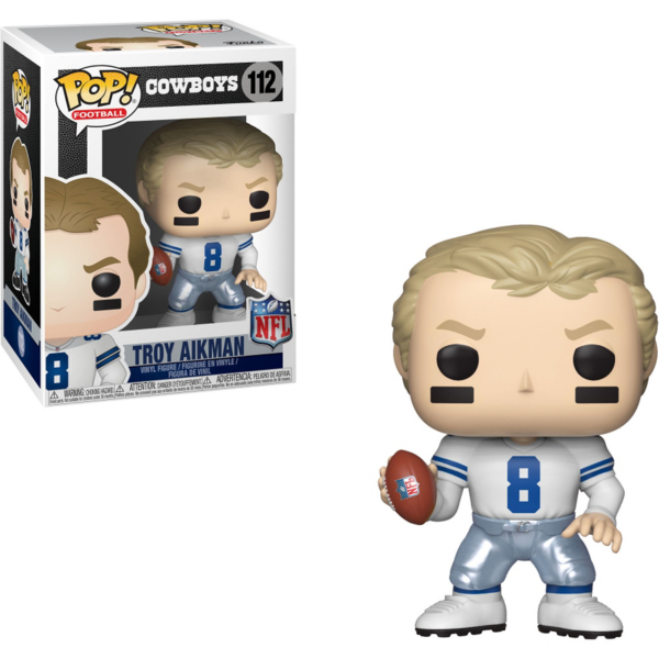 Dallas Cowboys Funko POP Wave 4 Troy Aikman Vinyl Figure