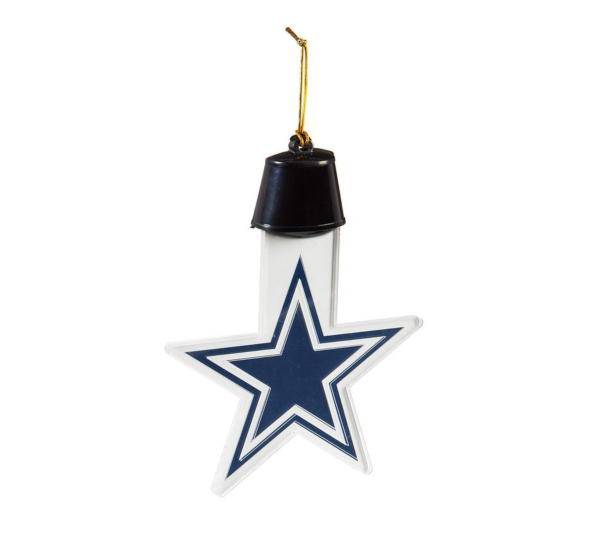 Dallas Cowboys Radiant Lit Acrylic Ornament