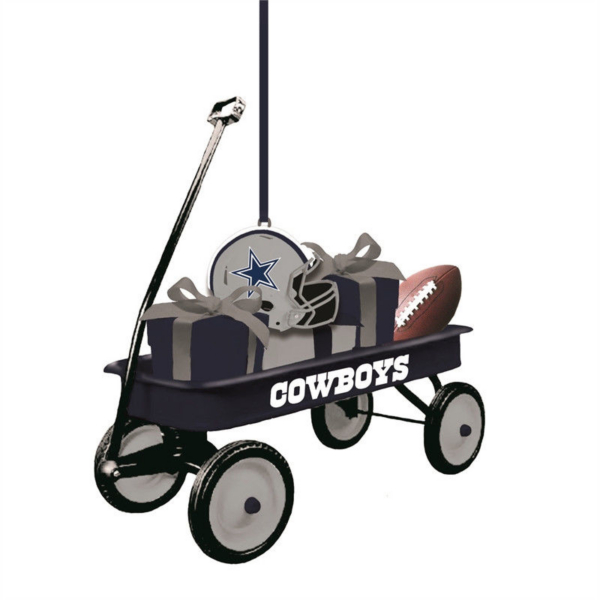 Dallas Cowboys Gift Wagon Ornament