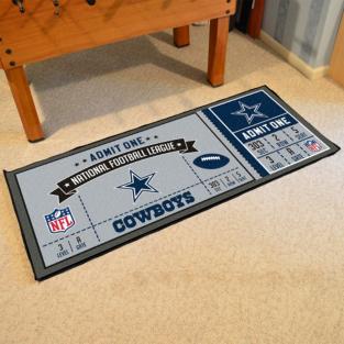 Dallas Cowboys Ticket Runner Mat