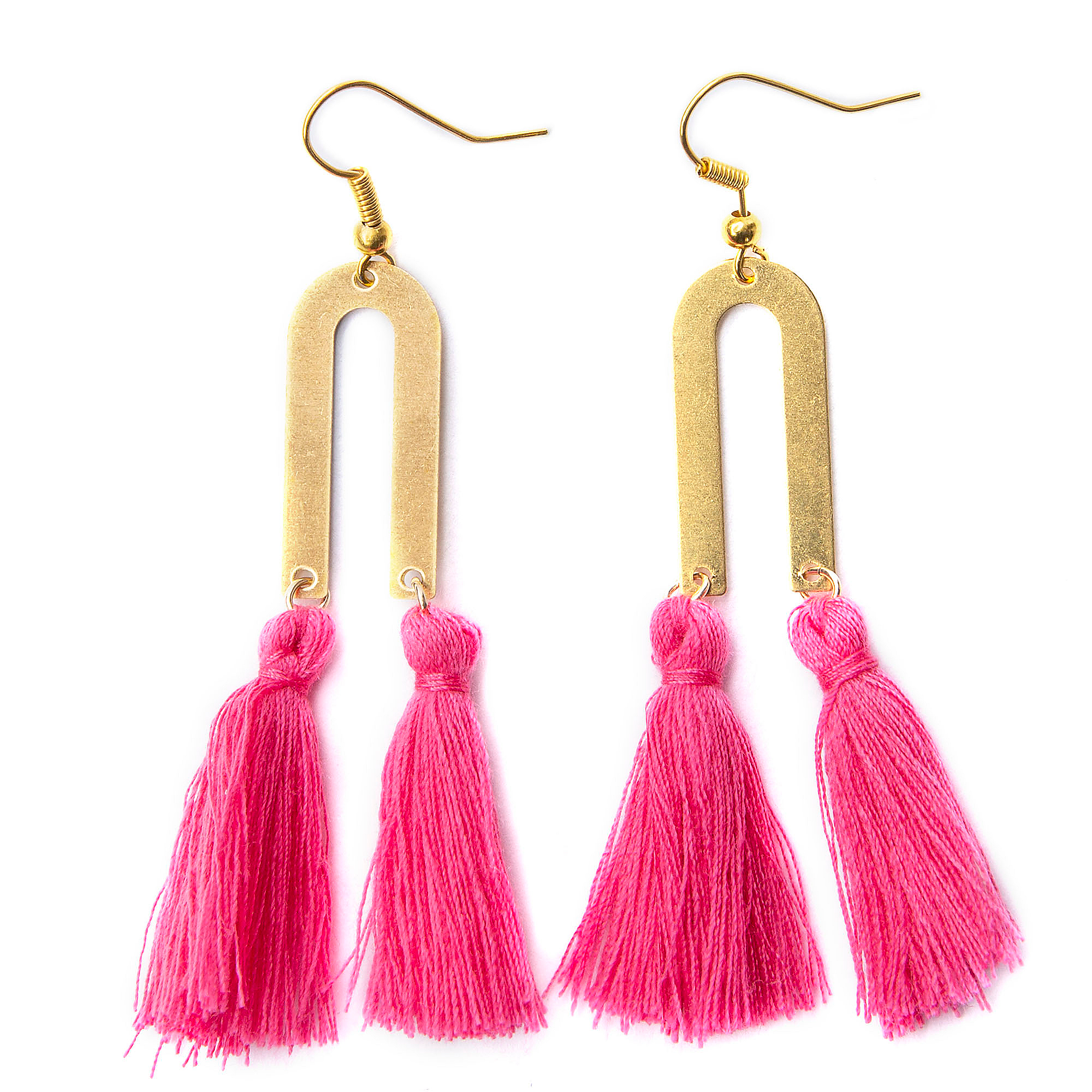 Studio All The Wire Marfa Tassel Earrings