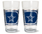 Dallas Cowboys 2-Pack 16oz Pint Glass