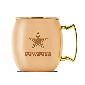 Dallas Cowboys 16 oz Moscow Mule Mug