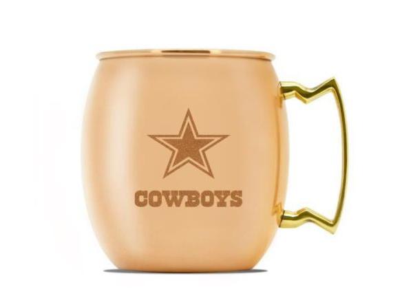Dallas Cowboys 16 oz Moscow Mule Mug