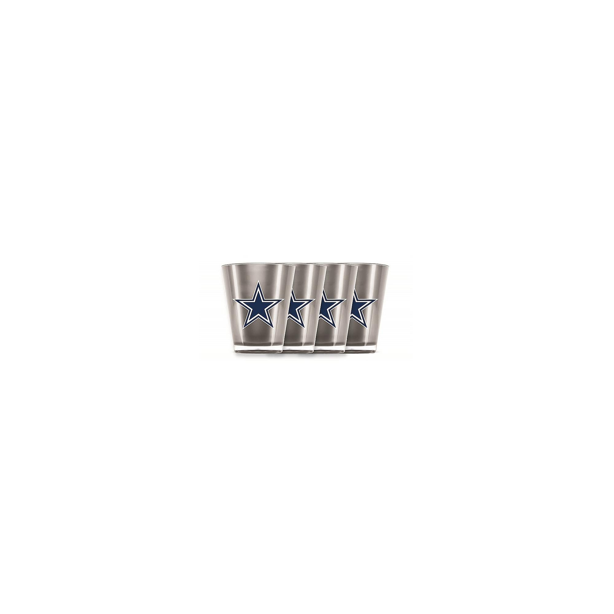 Dallas Cowboys 4-Pack Acrylic Shot Glasses
