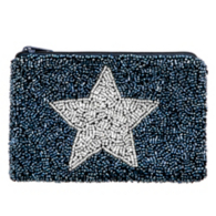 Studio Moyna Beaded Star Coin Purse