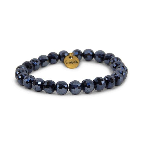 Erimish Navy Jar Bracelet