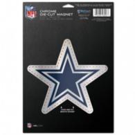 Dallas Cowboys 6x9 Chrome Magnet
