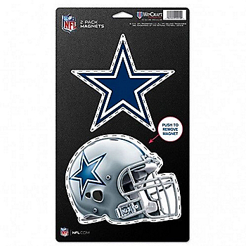 Dallas Cowboys 5x9 2-Pack Magnets