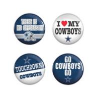 Dallas Cowboys 4-Pack Buttons