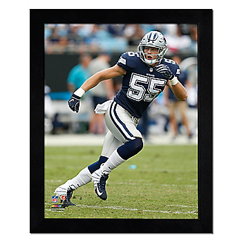 Dallas Cowboys 11x14 Leighton Vander Esch Running Frame
