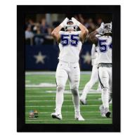 Dallas Cowboys 11x14 Leighton Vander Esch Howling Frame