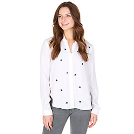 Studio Bella Dahl Star Tulip Hem Button Down Shirt