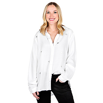 Studio Bella Dahl Silver Star Button Down Shirt