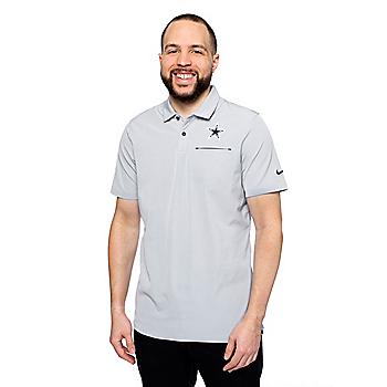 Dallas Cowboys Mens Nike Dry Elite Short Sleeve Polo