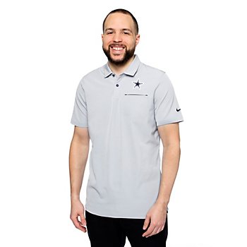 Dallas Cowboys Mens Nike Dri-FIT Elite Short Sleeve Polo