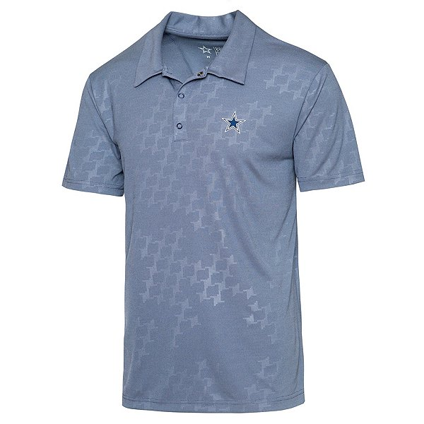 Dallas Cowboys Mens Zenith Polo