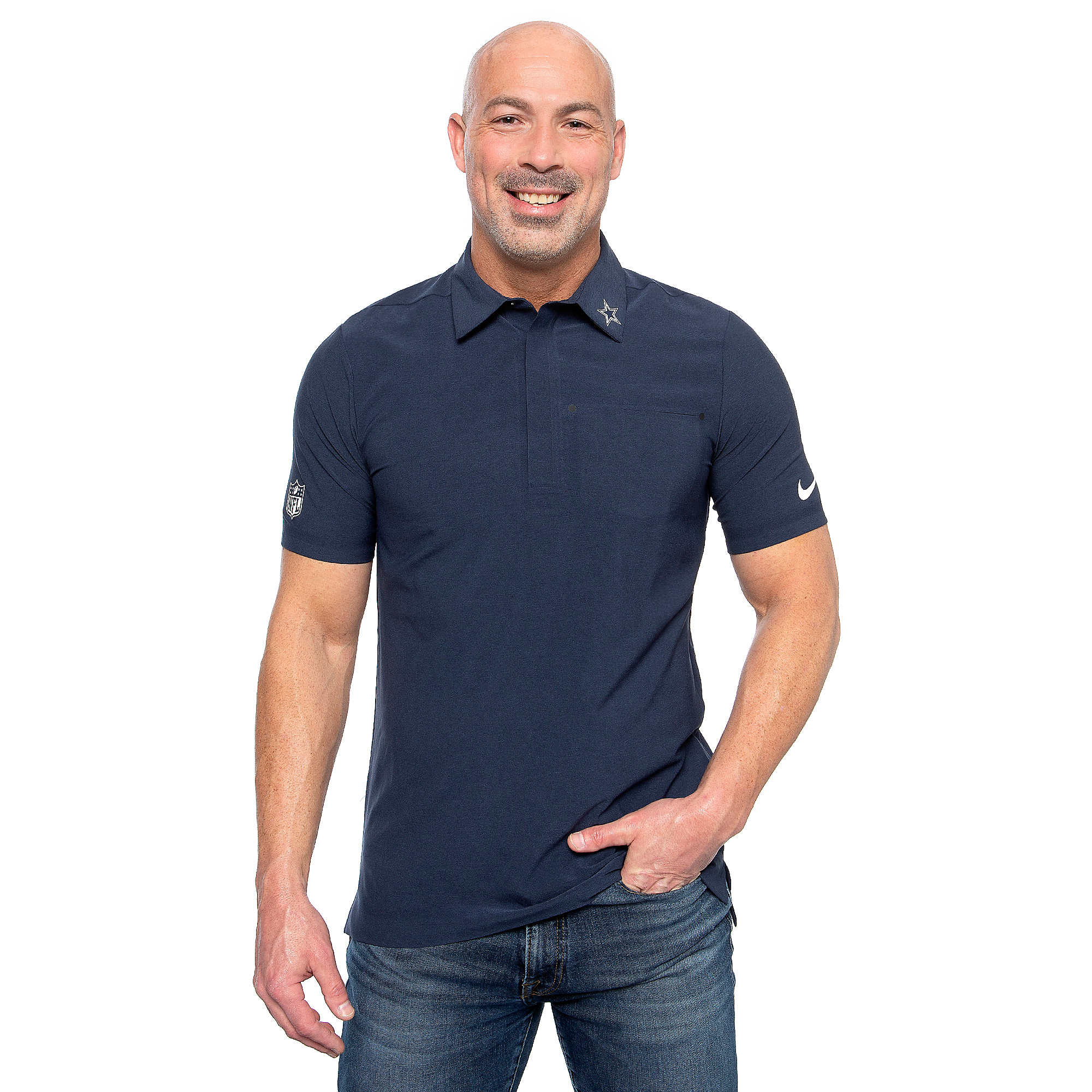 Dallas Cowboys Nike Alpha Mens Coach Polo
