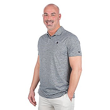 Dallas Cowboys Nike Dri-FIT Mens Tiger Woods Stripe Polo