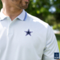 Dallas Cowboys Nike Dri-FIT Mens Vapor Control Polo