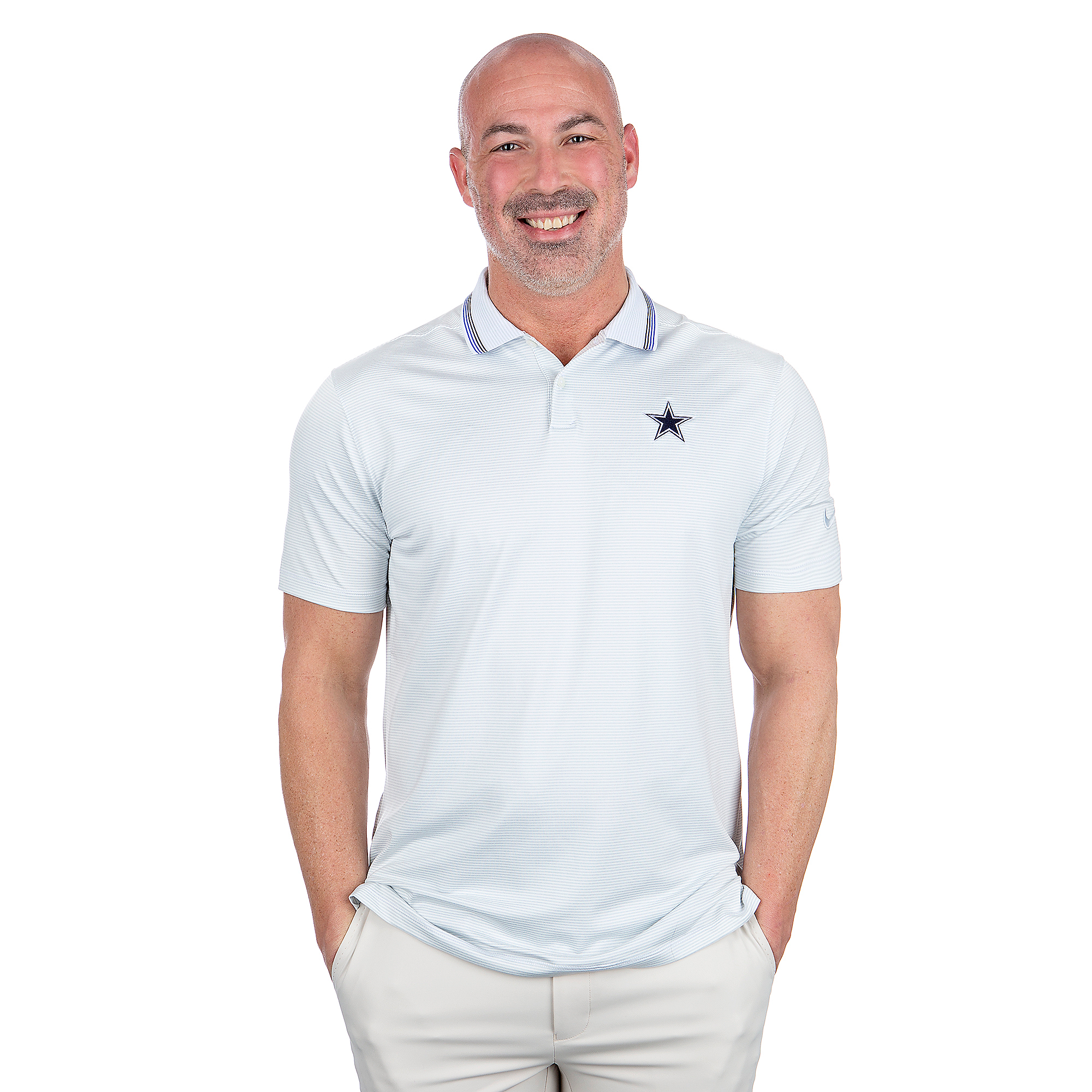 Dallas Cowboys Nike Dry Mens Vapor Control Polo