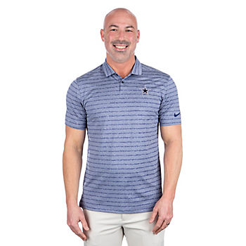 Dallas Cowboys Nike Dry Mens Vapor Stripe Polo