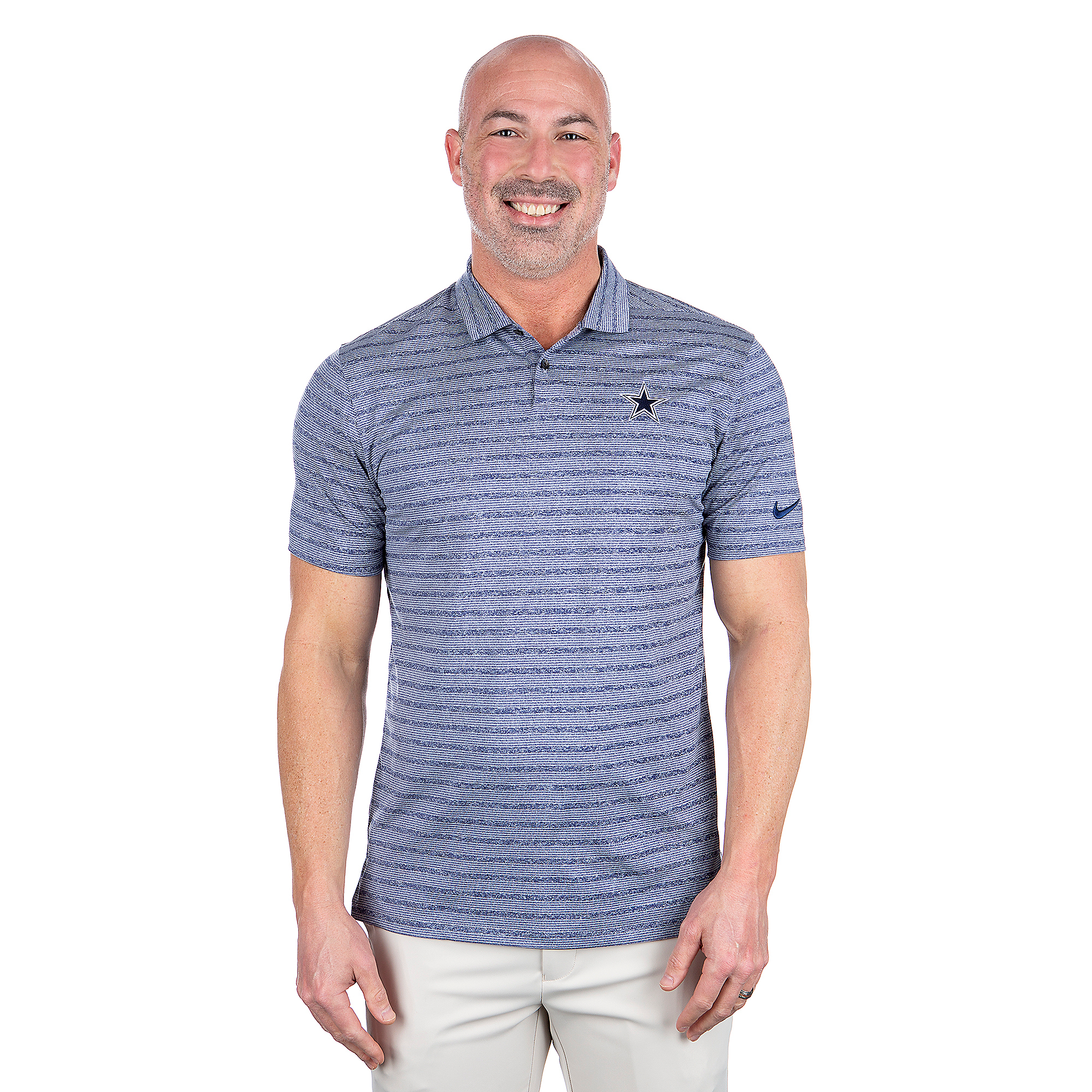 Dallas Cowboys Nike Dri-FIT Mens Vapor Stripe Polo