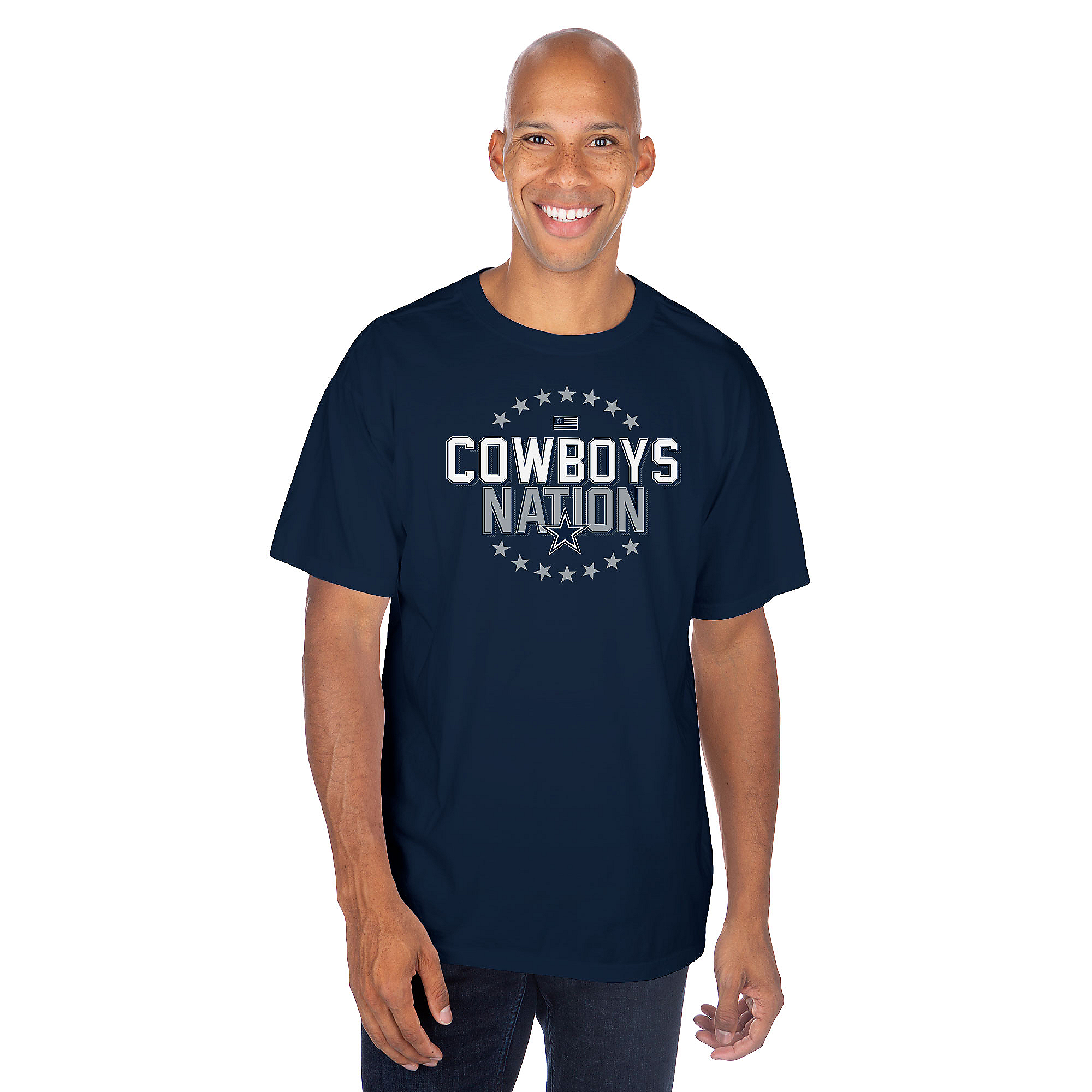 Dallas Cowboys Mens Brom Short Sleeve T-Shirt