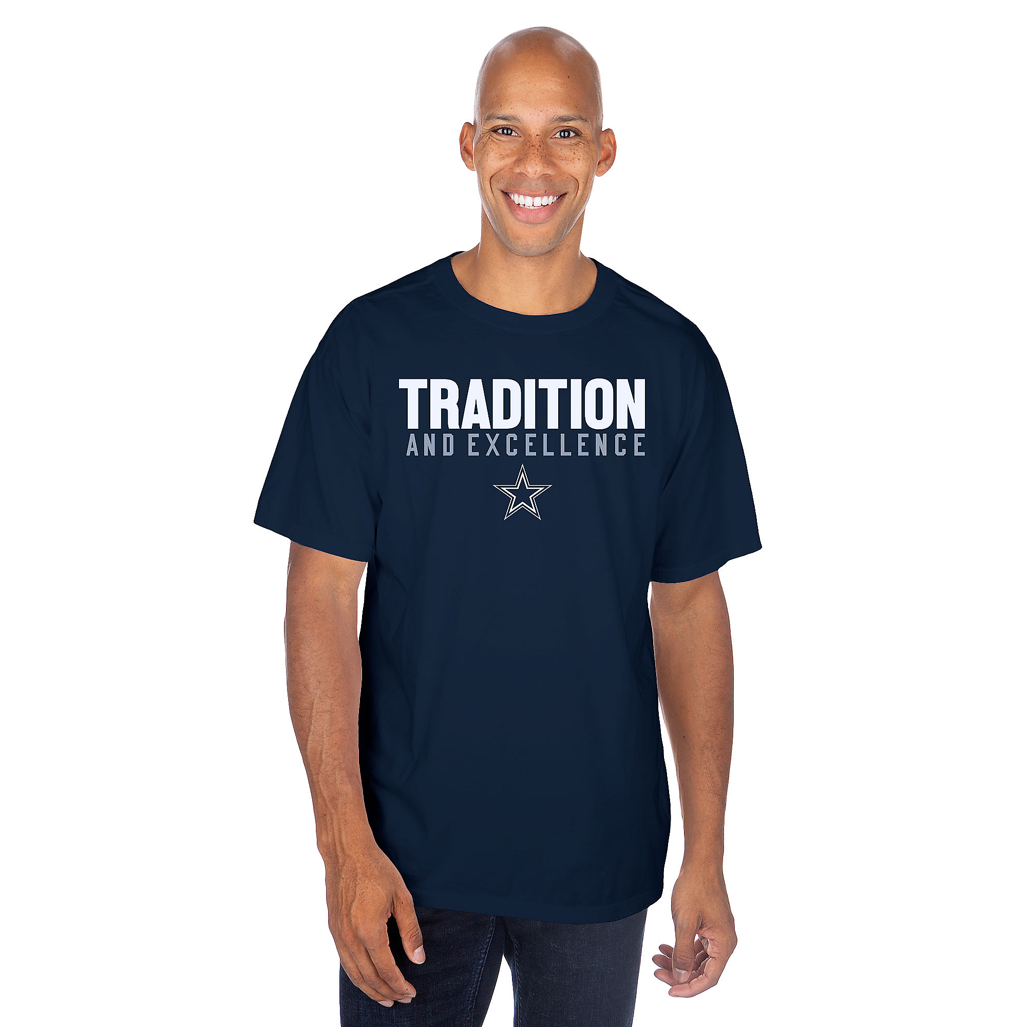 Dallas Cowboys Mens Notion Stats Short Sleeve T-Shirt