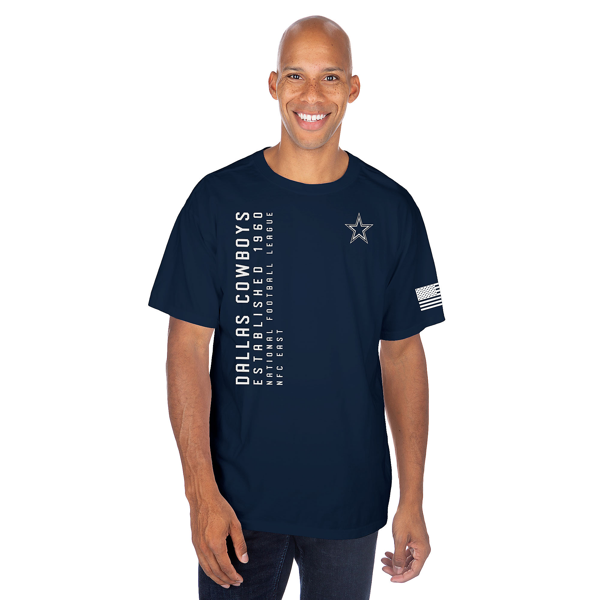 Dallas Cowboys Mens Hollin Short Sleeve T-Shirt