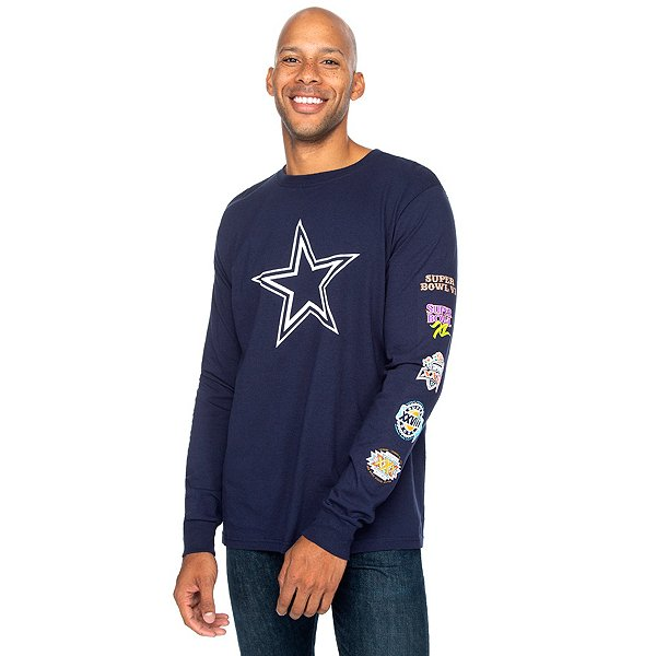 Dallas Cowboys Mens Micah Long Sleeve T-Shirt
