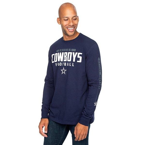 Dallas Cowboys Mens Ansel Long Sleeve T-Shirt