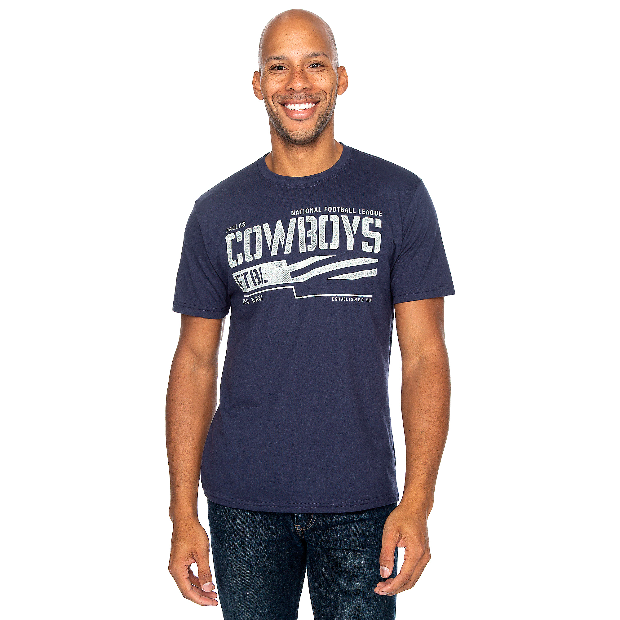 Dallas Cowboys Mens Grimm Short Sleeve T-Shirt